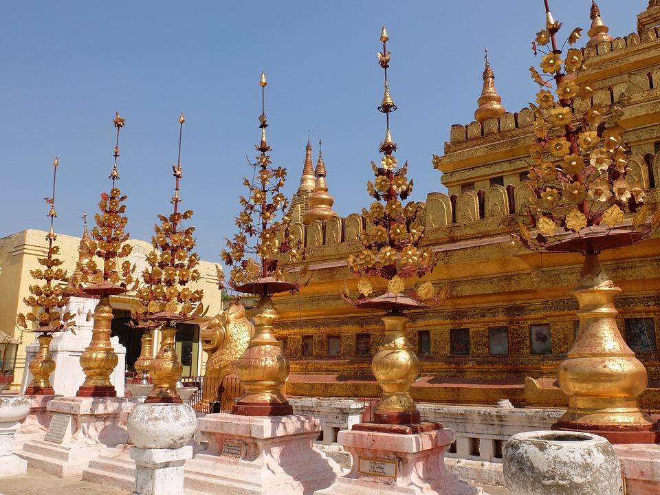 Buddhism, Burma, Temple, Happiness, Eastern
