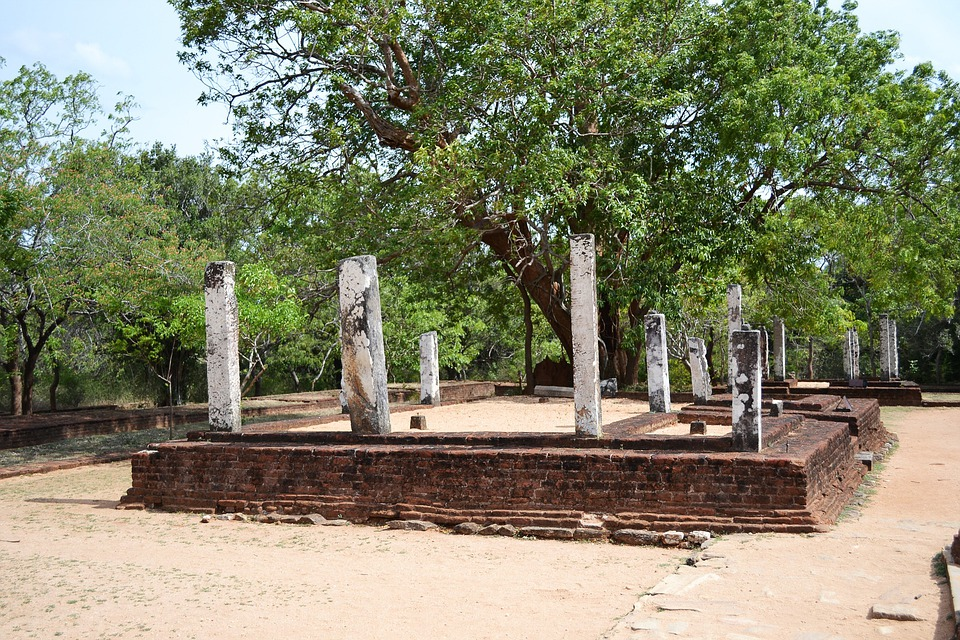 Temple, Old Temple, Buddhist Temple, Polonnaruwa