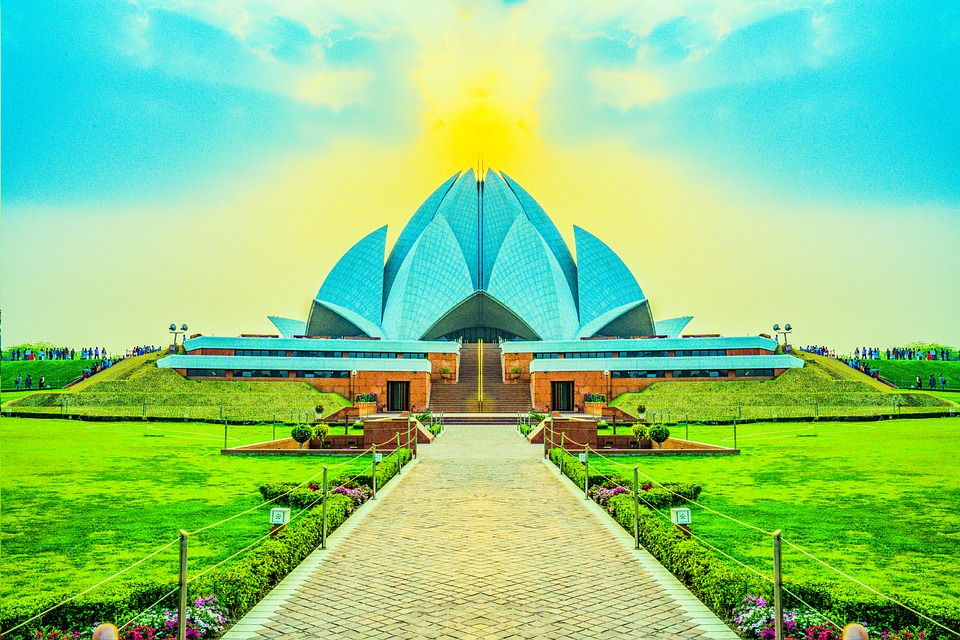 Architecture, Temple, Path, Building, Modern Building