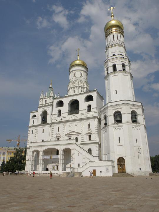 Temple, Kremlin, Church, Orthodox, Moscow