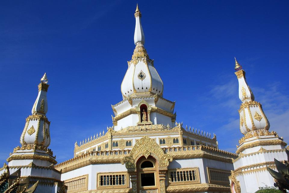 Thailand, Temple Complex, Pha Nam Yoi