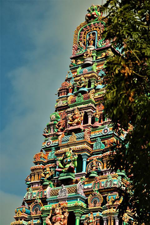 Temple, To Travel, Tourism, Hamm, Hinduism