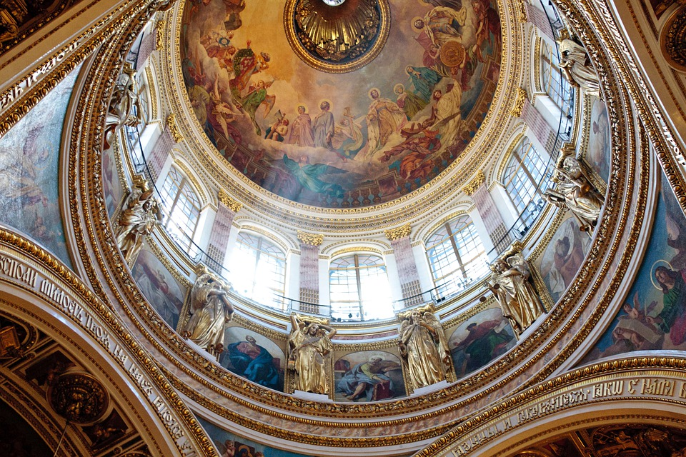 St Isaac's Cathedral, Interior, Dome, Temple