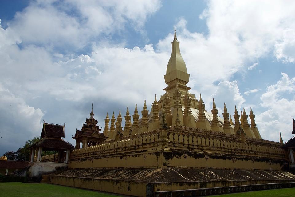 Laos, Golden Temple, Temple