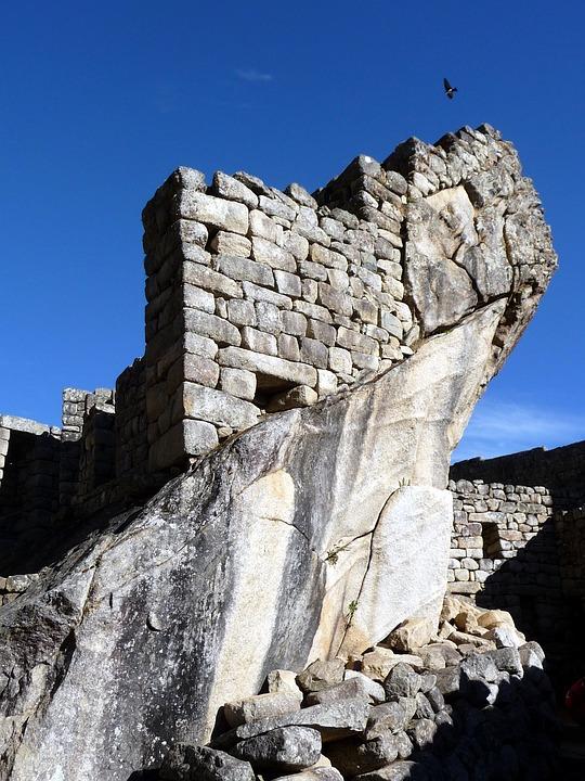 Temple, Inca, Peru, Machu Picchu