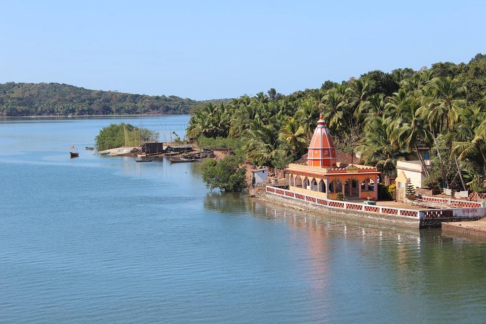 Maharashtra, Konkan, India, Temple, Architecture