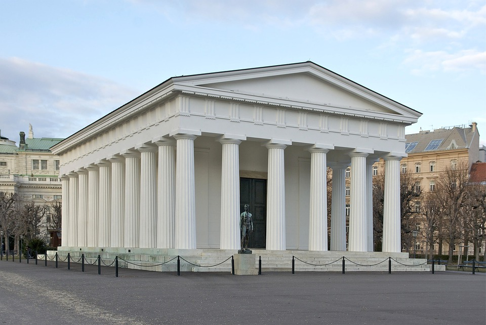 Temple Of Theseus, Vienna, Austria, Building