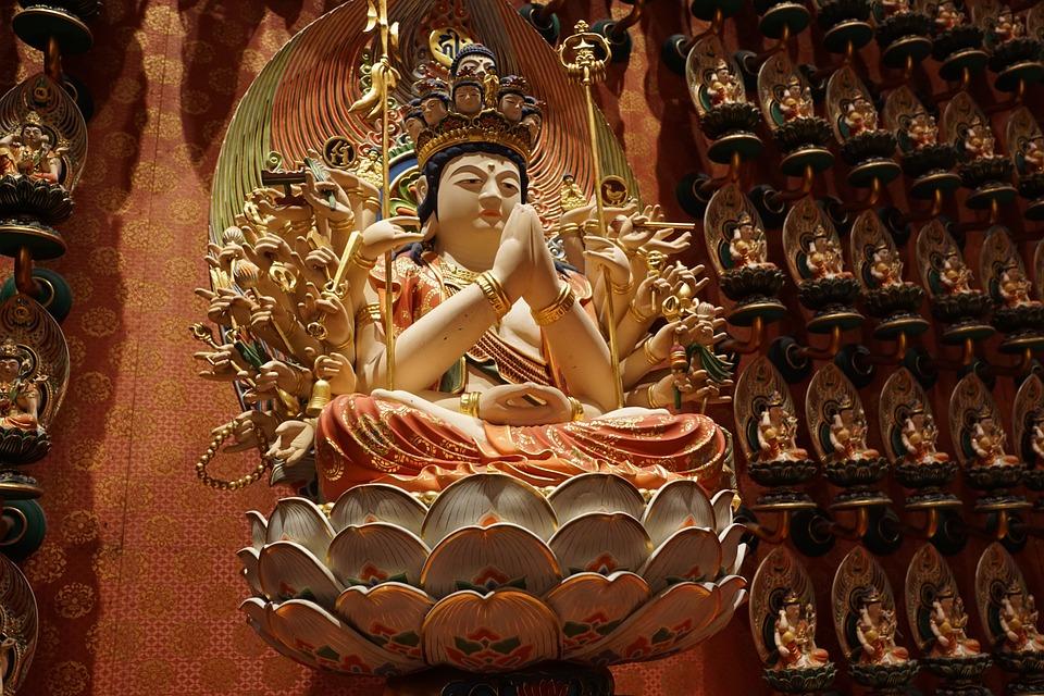 Religion, Buddha, Temple, Spirituality, Art, Sculpture