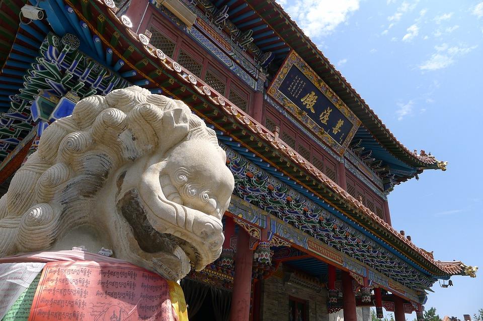 Temple, Shishi, Mongolia