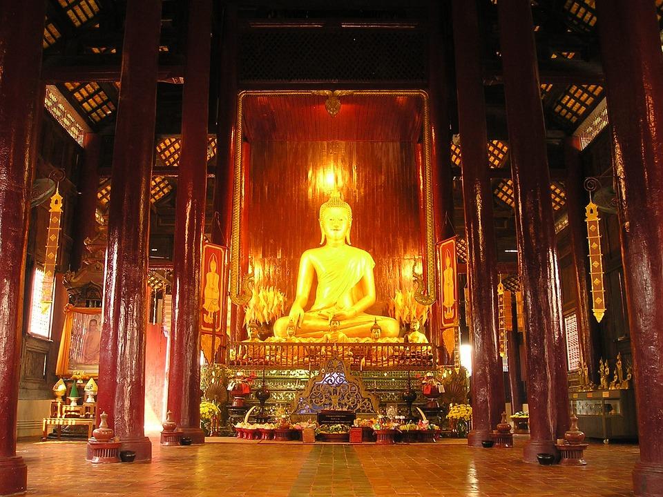 Temple, Thailand, Sanctuary, Shrine, Southeast, Asia