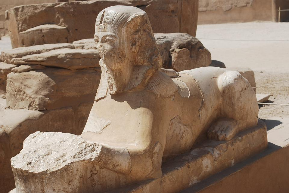 Sphinx, Egypt, Temple