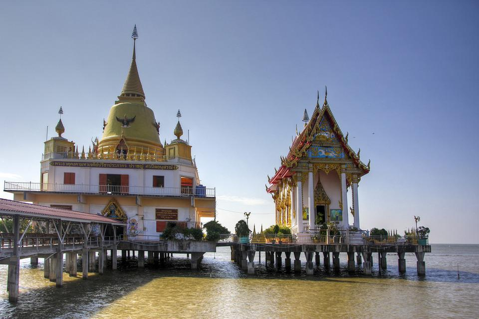 Thailand, Temple, Buddhism, Asia, Bangkok, Wat