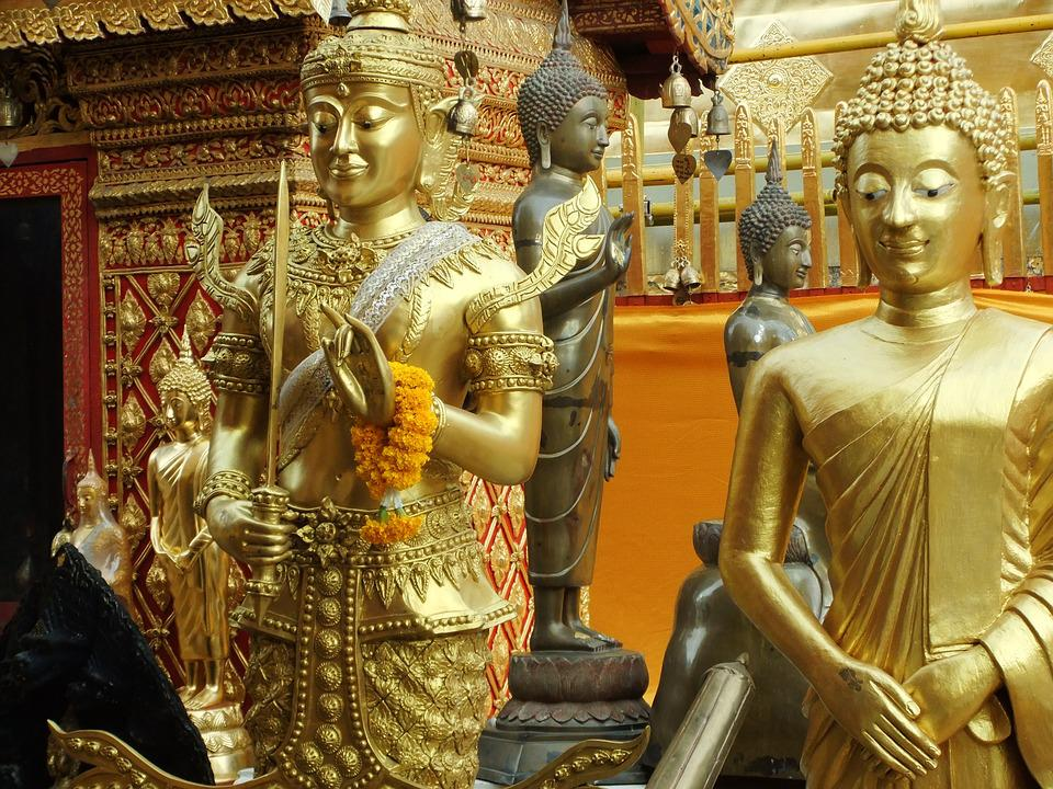 Thailand, Temple, Buddha