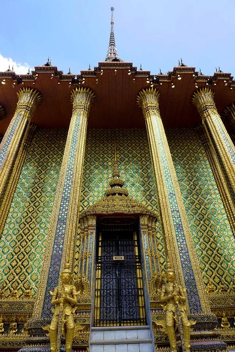 Wat Phra Kaew, Grand Palace, Bangkok, Thailand, Temple