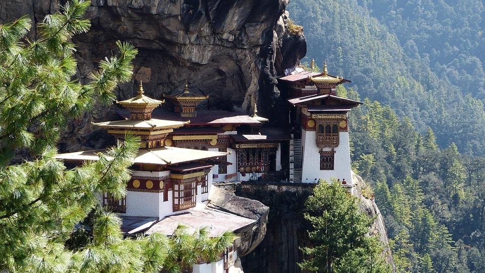 Travel, Architecture, Bhutan, Tiger Nest, Temple
