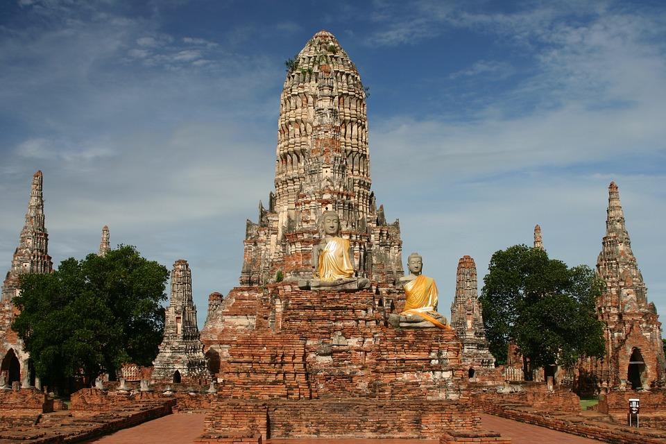 Wat Chai Watthanaram, Temple, Buddhism, Ayutthaya