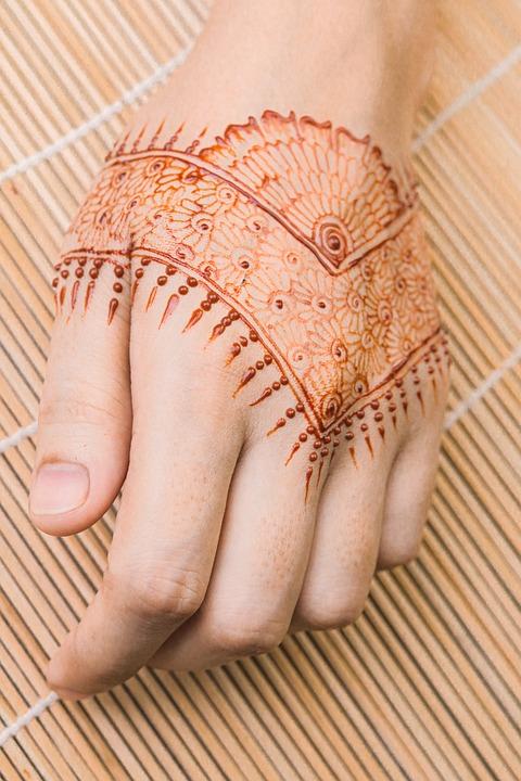 Body Art, Mehndi, Tattoo, Temporary Tattoo, Hand Tattoo