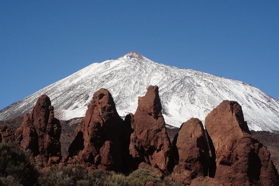 Tenerife, Spain, Canary Islands, Pico De Teide