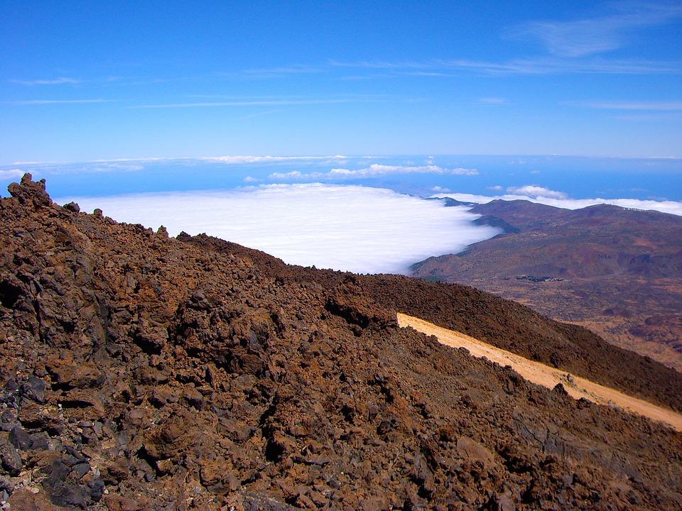 Tenerife, Pico Del Teide, Sky