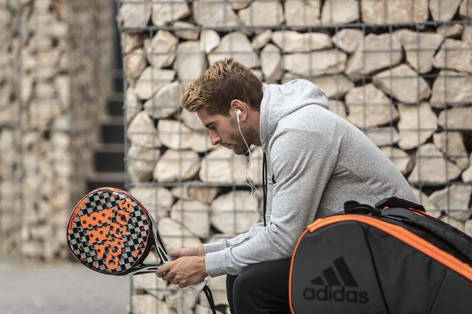 Sports, Adidas, Here, Racket, Tennis, Backpack