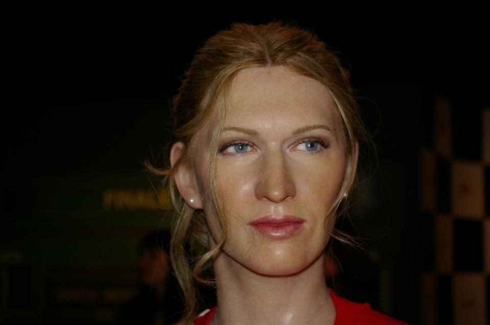 Steffi Graf, Tennis Player, Wax Figure, Berlin