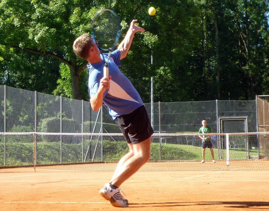 Tennis, Play Tennis, Dynamics, Powerful, Sport