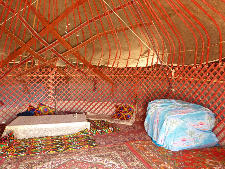 Yurt, Tent, Residential Structure, Nomads, Live