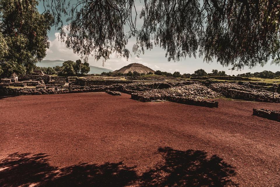 Ruins, Mexico, Teotiuacan, Pyramid, Stone, Architecture