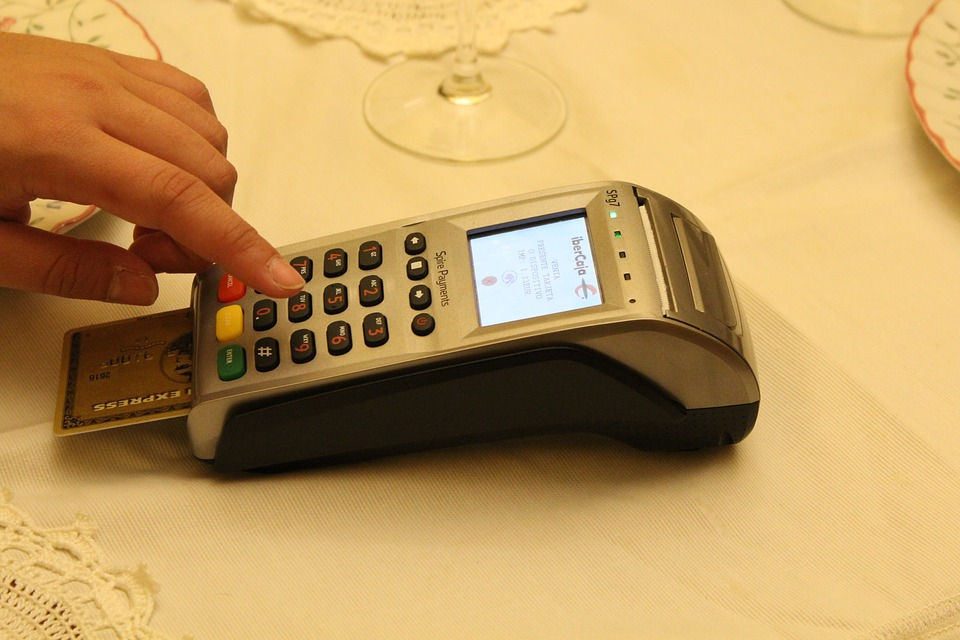 Credit Card, Terminal, Payment, Chip Card, Pin, Table