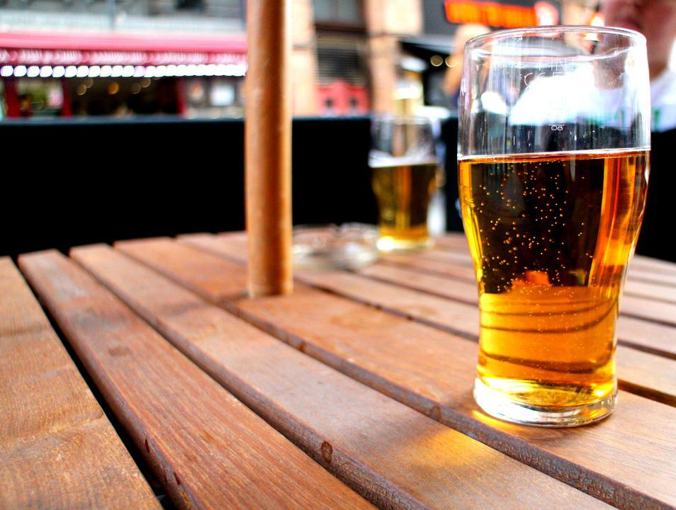 Cider, Terrace, Summer, Beer, Drink, Alcohol