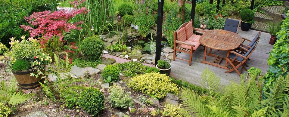 Terrace, Garden, Garden Design, Gartendeko