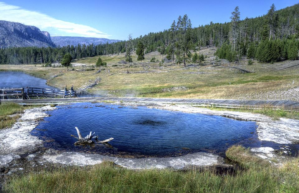Terrace Hot Springs, Yellowstone National Park