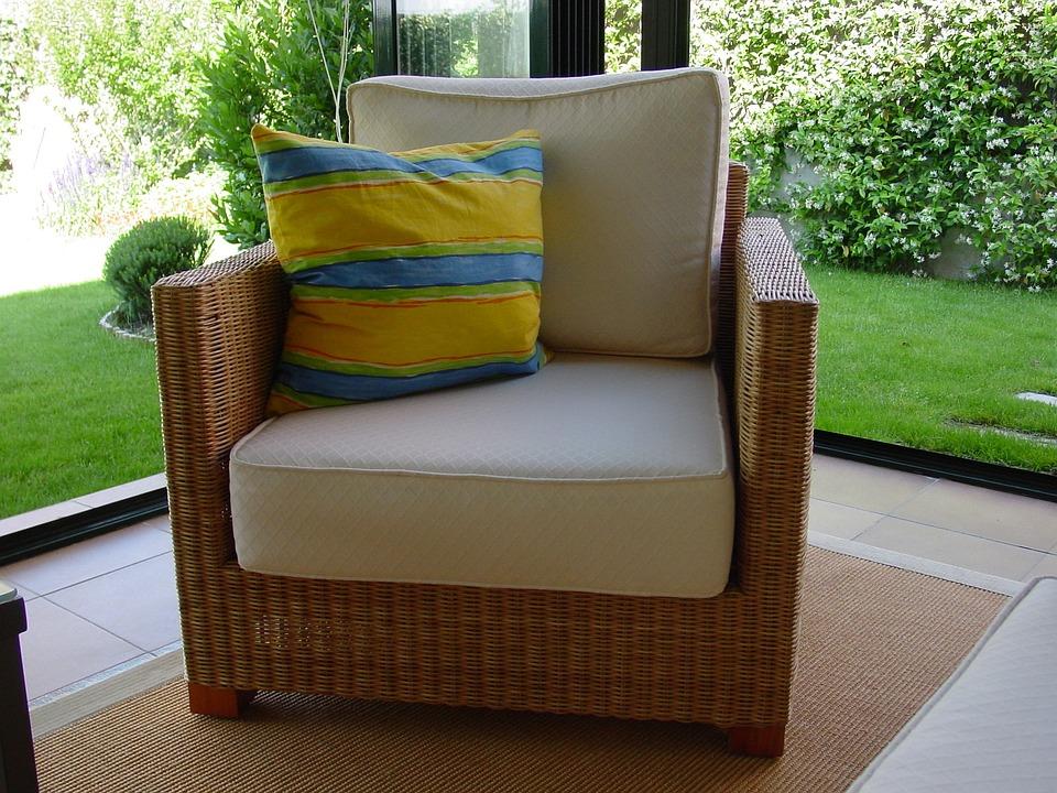 Armchair, House, Home, Terrace