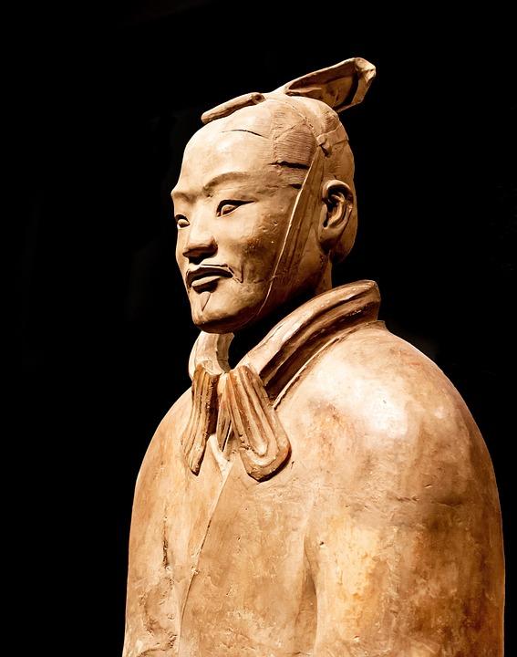 Statue, Terracotta, Army, Archeology, Sculpture