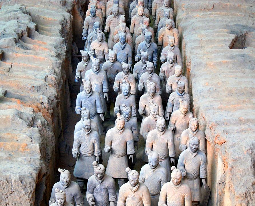 Soldier, Terracotta, Qin Shi Huang, China