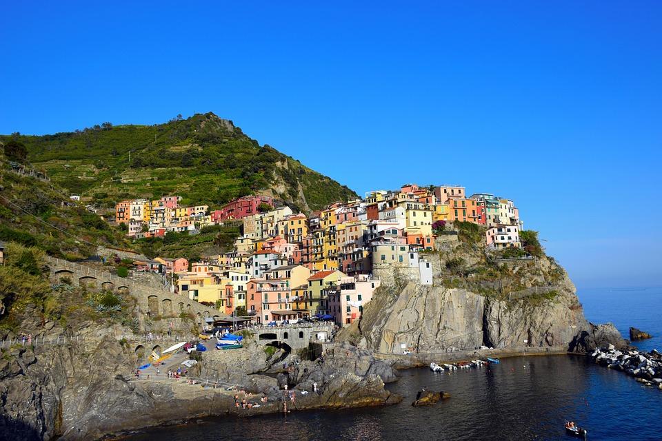 Cinque Terre, Italy, Sea, Europe, Cinque, Terre