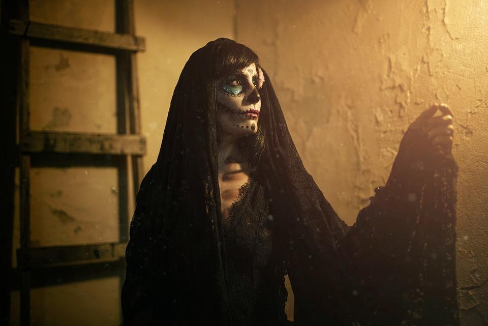 Catrina, Skull, Day Of The Dead, Mexico, Terror, Dead