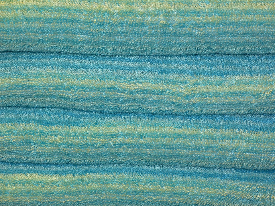 Free photo Terry Bath Towel Towels Color Terry Cloth Fabric