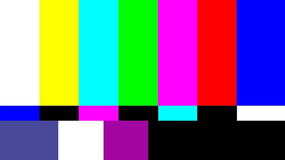 Intermission, Break, Watch Tv, Test Image, Color