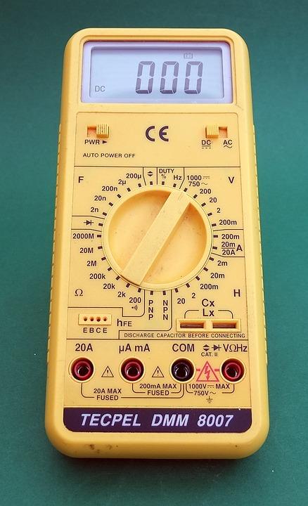 Multimeter, Electrical, Testing, Instrument