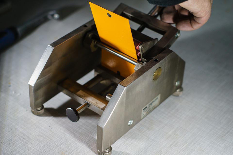 Machine, Elasticity Test, Testing, Mandrel Bending Test