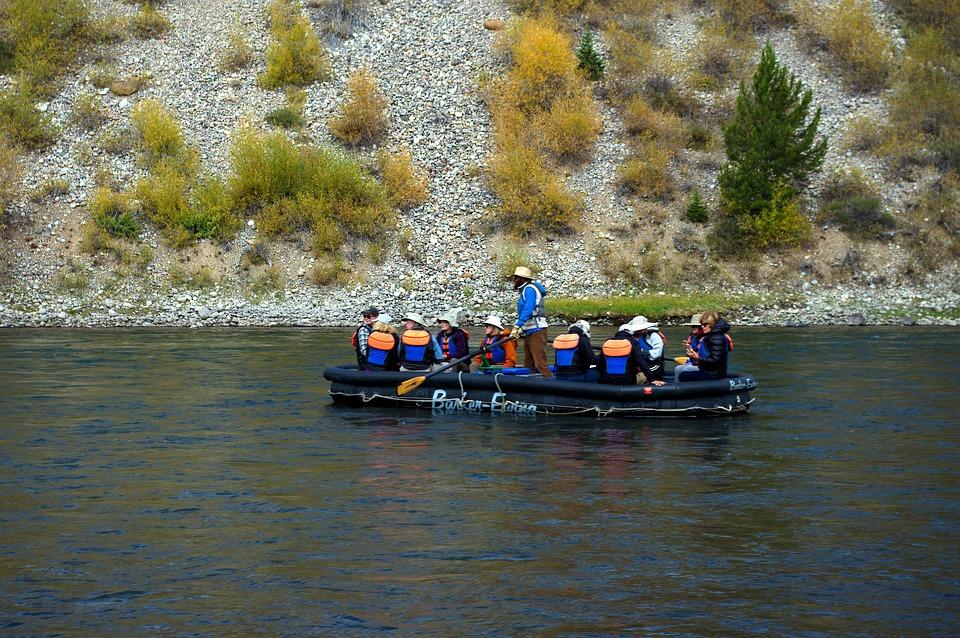 Floating The Snake, Raft, Snake, River, Grand, Teton