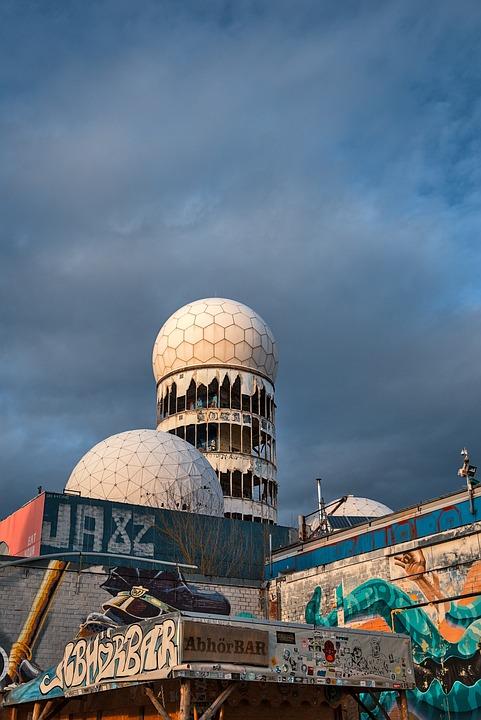 Teufelsberg, Dome, Radar Station, Interception Station