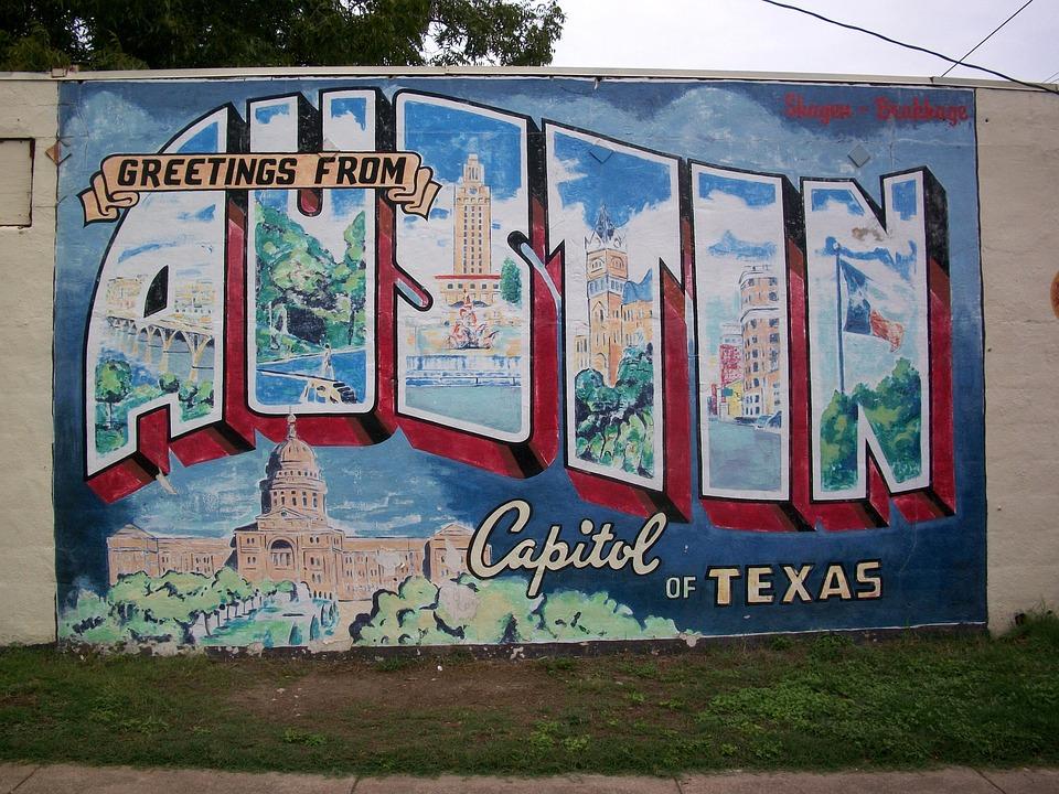 Austin, Graffiti, Mural, Texas, Painting, Arts