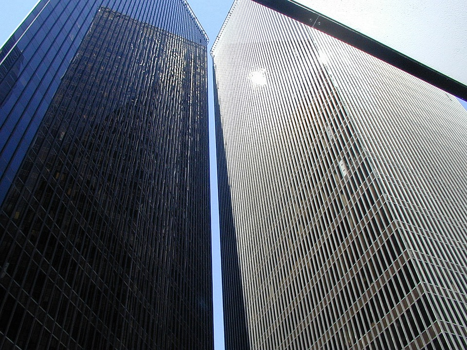 Skyscraper, Houston, Texas, High, Architecture