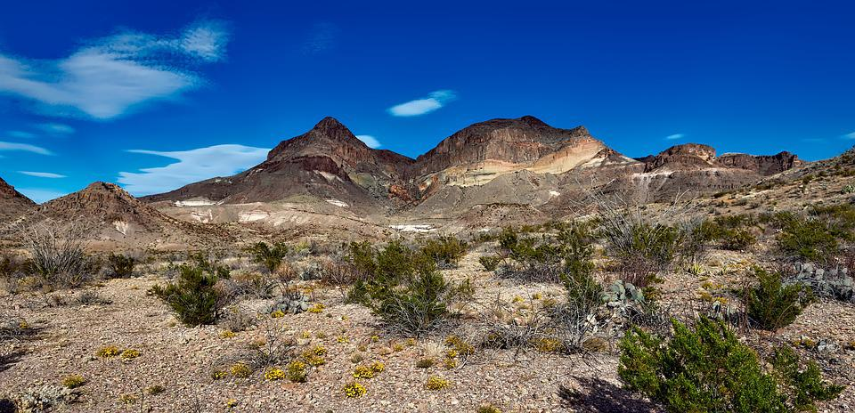 Big Bend National Park, Texas, Landscape, Remote