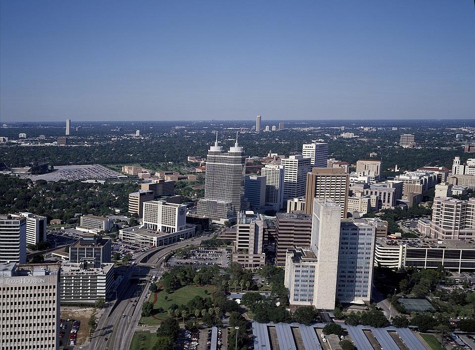 Houston, Texas, City, Cities, Urban, Skyline, Buildings