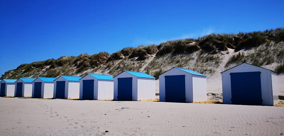 Texel, Holland, Island, Sea, North Sea, Sand, Beach
