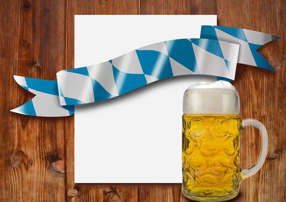 Oktoberfest, Measure, Mug, Beer Mug, Beer, Text Box