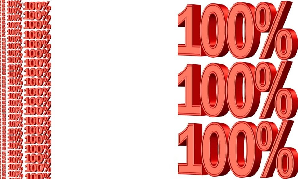 Text, Hundred, Percent, 100, Paper, Percentage